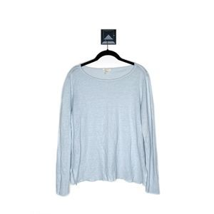 Eileen Fisher Organic Linen Bateau Neck Box Top